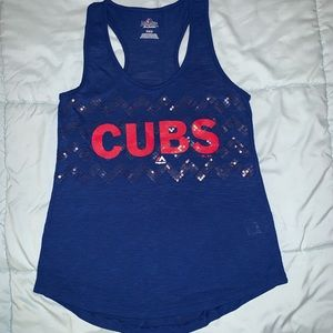 Majestic MLB Chicago Cubs Tank Top